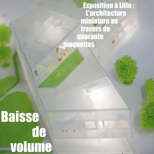 Exposition : La troisième dimension - l`architecture miniature, à la Maison de l`Architecture et de la Ville de Lille jusqu`au 30 avril 2010
