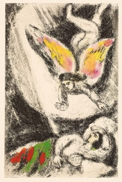 Dossier couleurs marc chagall et la bible au mahj for Biographie de marc chagall