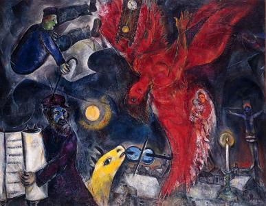 marc chagall, chagall, bible, illustration, illustrations, exposition, mahj, musée d`art et d`histoire du judasme, paris, biographie, peinture, tableau, toile, ancien testament, testament, couleur