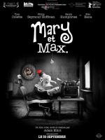 Cinéma Mary et max d`Adam Eliott animation