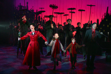 mary poppins, broadway, musical, comédie musicale, Nanny, Broadway, Chim Chim Cheeree, The Perfect Nanny, A Spoonful of Sugar, Feed The Birds, famille Banks, Cherry Tree Lane, the Holy Terror, Wicked