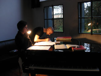 Mauro Lanza portrait musicien électroacoustique musique portrait biennale venise composition