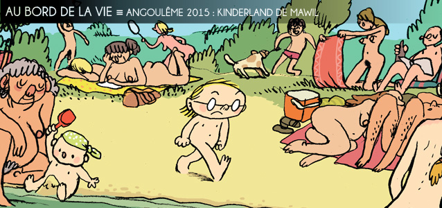 Festival d`Angoul�me 2015 : Kinderland de Mawil, voyage � Berlin-Est