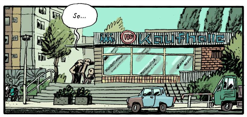 mawil, bd, bande dessinée, art, artiste, dessinateur, Marcus Witzel, kinderland, festival, angoulême, 2015, berlin, allemagne, chute, allemand, est, ouest, witzel, critique, analyse, image, interview