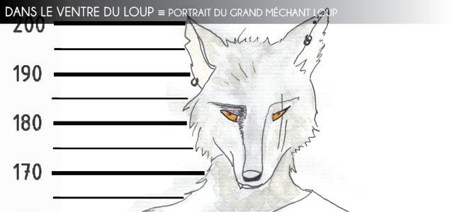 Portrait fictionnel : Le Grand Méchant Loup