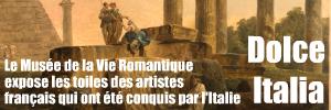Du XVIIe au XIXe siècle, l`Italie était le passage obligé pour tout artiste. Les chefs d`oeuvre du Petit Palais s`exposent au Musée de la Vie Romantique.