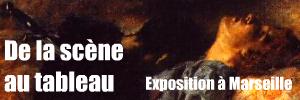 Exposition `De la sc�ne au tableau` au Mus�e Cantini de Marseille, deux-cents peintures consacr�es au th��tre et � l`op�ra.