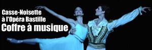 Le célèbre ballet chorégraphié par Noureev, sur une partition de Tchaikovski, fait son traditionnel saut à l`Opéra de Paris pour la fin d`année.