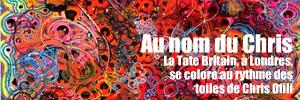 Exposition : Chris Ofili à la Tate Britain, à Londres, jusqu`au 16 mai 2010