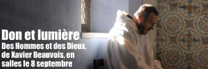 Cinéma : Des Hommes et des Dieux, drame français de Xavier Beauvois, en salles le 8 septembre 2010.
