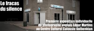 Exposition : Edgar Martins - La Ligne volage, au Centre Culturel Calouste Gulbenkian, à Paris, jusqu`au 18 décembre 2010.