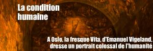 Visite : La fresque Vita au mus�e Emanuel Vigeland, � Oslo.