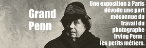 Exposition : Irving Penn, les petits métiers, à la fondation Henri Cartier-Bresson à Paris, jusqu`au 25 juillet 2010.
