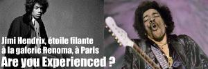 Exposition : Jimi Hendrix à la galerie Renoma, à Paris, jusqu`au 16 décembre 2010