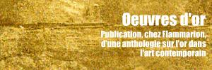 Dossier couleurs : L`Or dans l`art contemporain, publi� chez Flammarion.