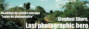 Réédition de l`ouvrage `Leçon de photographie` (Nature of photographs) de Stephen Shore, chez Phaidon.