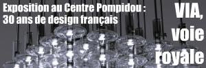 Le Centre Pompidou retrace 30 années d`activité et de soutien à la création design française de l`association pour la Valorisation de l`Innovation dans l`Ameublement.
