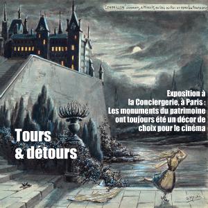 Exposition : Monuments, stars du Septième Art à la Conciergerie, à Paris, jusqu`au 13 février 2011.