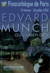 edvard munch, exposition, le cri, anti-cri, pinacothèque de paris, biographie, parcours