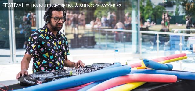 nuits secretes, festival, musique, aulnoye-aymeries, parcours secrets, rock, pop, electro, rap, disco