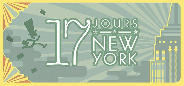 Evenement : 17 jours au rythme de New York