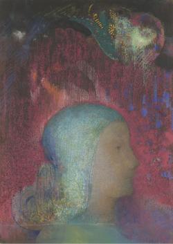 odilon redon, odilon, redon, grand palais, grand, palais, exposition, 2011, rétrospective, noir, noirs, couleur, couleurs, tableau, portrait, parcours, histoire, oeuvre, image, images, tableaux, toile