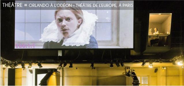 theatre, orlando, virginia woolf, katie mitchell, odeon, genres, feminisme, cinema