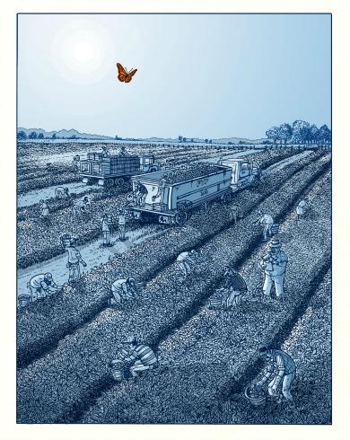 peter kuper, fanzine, comic, world war 3 illustrated, BD, bande dessinée, politique, politisée, angoulême, festival, portrait, rencontre, 2016