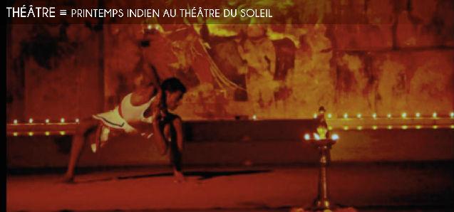 printemps indien, cartoucherie de vincennes, theatre du soleil, koumarane valavane, kunti karna, terre de cendres, karuppu, jean-jacques lemetre