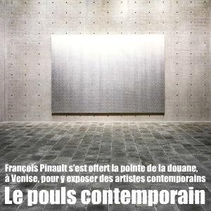 Visite guidée de la Punta della dogana, nouveau siège du milliardaire François Pinault, qui expose la crème des artistes contemporains.