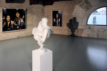 punta della dogana, palazzo grassi, François Pinault, pointe de la doine, mapping the studio : artists from François Pinault collection, san marco, grand canal, boy with a frog, charles ray