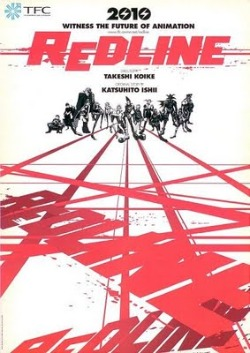 Redline, Takeshi Koike, film d`animation japonais, courses de voitures, science-fiction