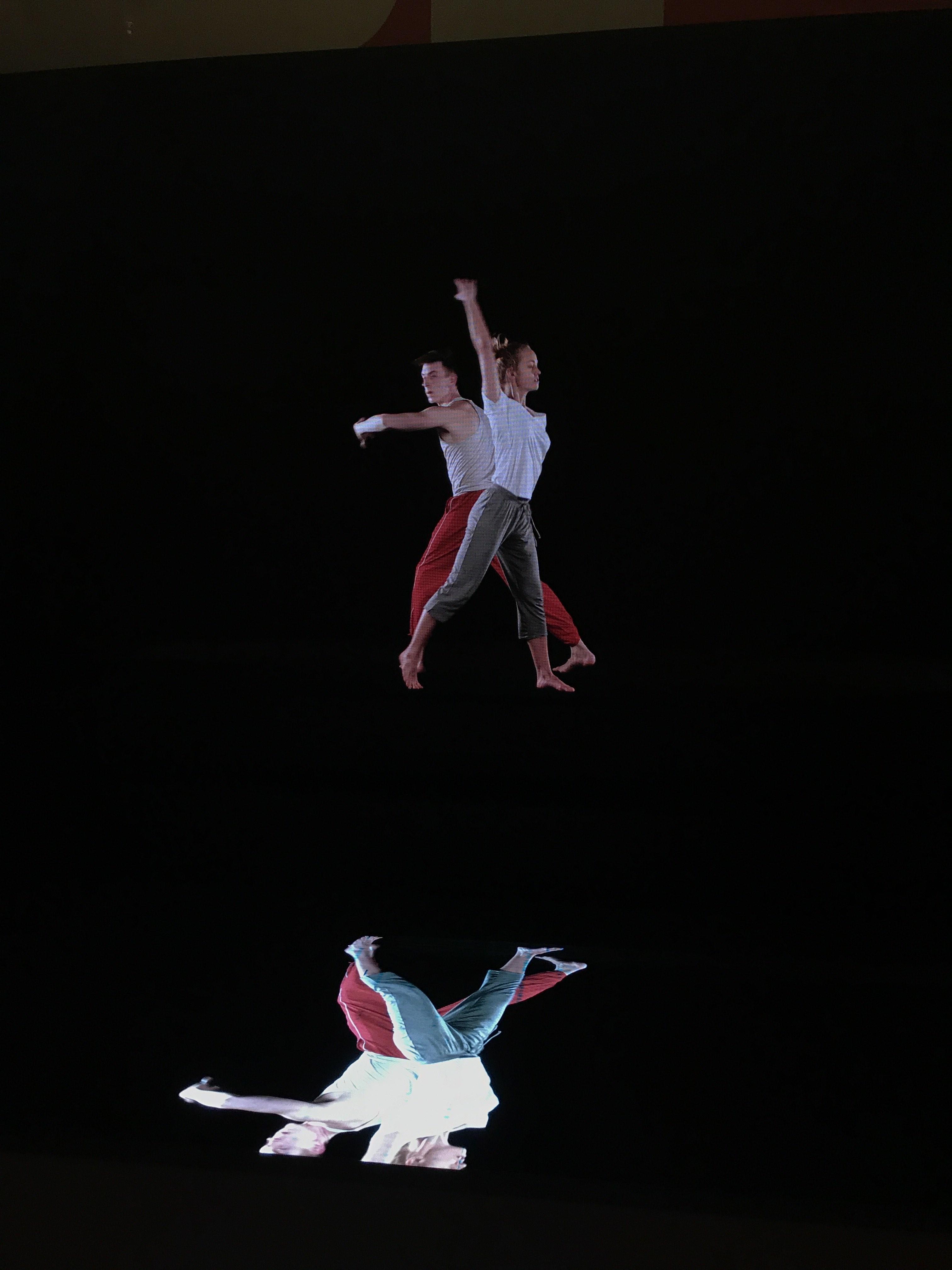 reflections redux, benjamin millepied, barbara kruger, ballet, danse contemporaine, mise en abyme, reflexivité, L A dance project, opera de paris, slogans