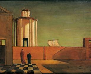 Uno sguardo nell`invisibile, Palazzo Strozzi, Florence, firenze, un regard dans l`invisible, exposition, de chiricho, max ernst, rené magritte, invisible, silence du monde, peinture