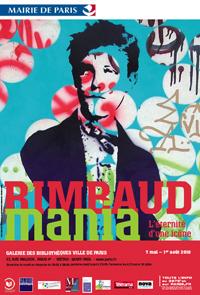 rimbaud, arthur rimbaud, rimbaudmania, exposition, rétrospective, parcours, biographie, galerie des bibliothèques, paris, art contemporain, icône, une saison en enfer, icône, paris