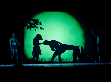 shadowland, danse, folies bergère, spectacle, théâtre des ombres, pilobolus, steven banks, david poe, ballet, bob l`éponge, musical, ombre, ombres, interview, shadow, folies, bergères, paris, théâtre
