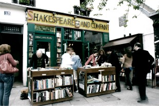 dossier librairies, shakespeare and co, paris, anglais, américain, livres, revue, écrivains, thomas pirel, beat generation, paris, bohème, sylvia whitman, sylvia beach, joyce