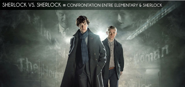 Analyse comparée : Elementary vs. Sherlock