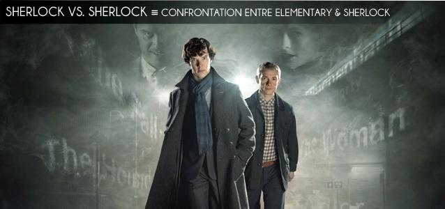 Analyse comparée : Elementary vs. Sherlock