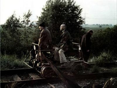 stalker de tarkovski sur les rails