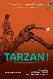 Tarzan ! ou Rousseau chez les Waziri, exposition, Edgar Rice Burroughs