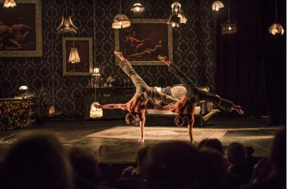 the elephant in the room, theatre bernadette lafont nimes, cirque le roux, music hall, danse, cirque, acrobaties, comique, comédie, claquettes, musique, vaudeville, costumes