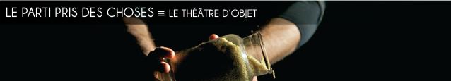 Analyse : le théâtre d`objet
