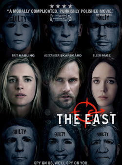 the east, the, east, est, l`est, Zal Batmanglij, Brit Marling, Alexander Skarsgard, Ellen Page, Patricia Clarkson, zal, film, cinéma, critique, analyse, interview, sortie, photo, photos, séances