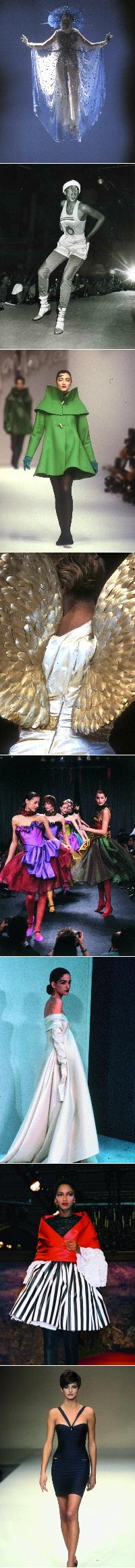 Exposition, une histoire idéale de la mode contemporaine, mode, fashion, défilé, haute-couture, musée des arts décoratifs, jean-paul gaultier, thierry mugler, azzedine alaa, yves saint-laurent
