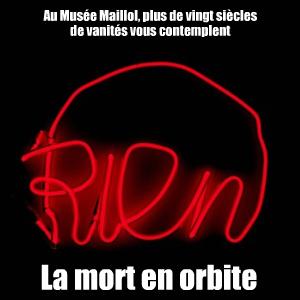 C`est la vie ! Vanités de Caravage à Damien Hirst, au Musée Maillol, jusqu`au 28 juin 2010.